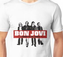 bon jovi i want to be loved paintng art design dolly Unisex T-Shirt