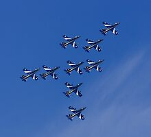 Nine Arrows by TomGreenPhotos