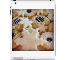 Traditional handmade Christmas biscuits iPad Case/Skin