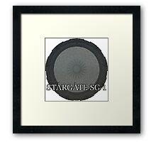 The Stargate - Stargate SG1 Framed Print