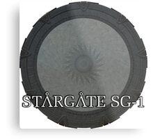 The Stargate - Stargate SG1 Metal Print