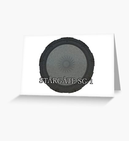 The Stargate - Stargate SG1 Greeting Card