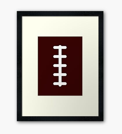 Laces Out Framed Print