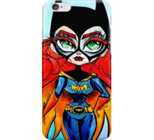 Batgirl! iPhone Case/Skin