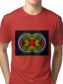 A Flowerful Impression Tri-blend T-Shirt