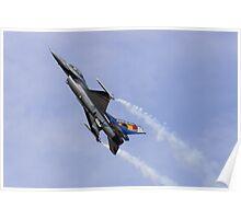 Belgian F-16 Climbs Poster