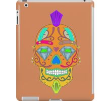 "skull-faced Canadian ""the best"" iPad Case/Skin"