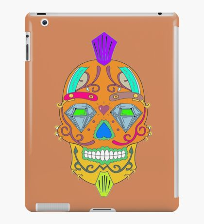 """skull-faced Canadian """"the best"""" iPad Case/Skin"""