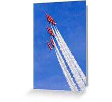 Arrows Vertical Greeting Card