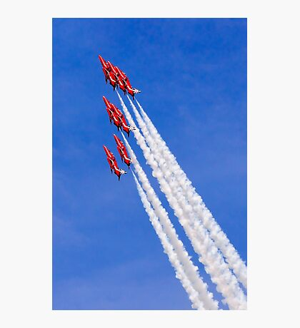 Arrows Vertical Photographic Print