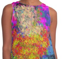 Superheros Type Font Series - Abstract Super Pop Art Comic Contrast Tank