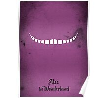 Alice in Wonderland - Minimalist take Poster