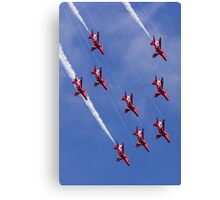 Arrows Dive Canvas Print