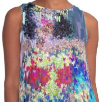 Superheros Type Font Series - Abstract Wonder Pop Art Comic Contrast Tank