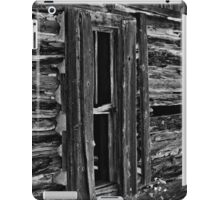 Window On Another Time In Black And White iPad Case/Skin