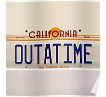 California Out A Time Poster