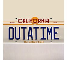 California Out A Time Photographic Print