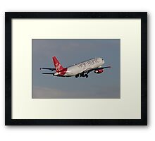 Virgin A320 Framed Print