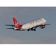 Virgin A320 Photographic Print