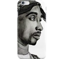 TUPAC T SHIRT iPhone Case/Skin