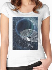 Sparkling Stars Women's Fitted Scoop T-Shirt