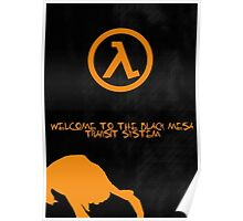Half Life Black Mesa Poster