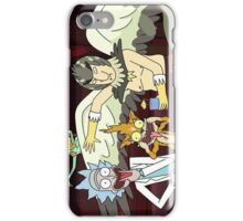 Rick and Morty - Old Photo iPhone Case/Skin