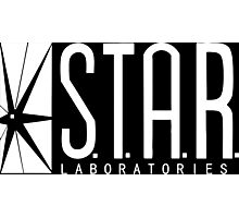 The Flash - S.T.A.R. Lab Photographic Print