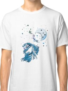 Cookie Monster And The Cookie Moon Classic T-Shirt