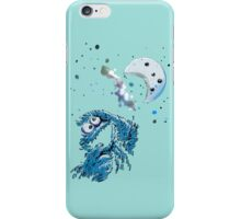 Cookie Monster And The Cookie Moon iPhone Case/Skin