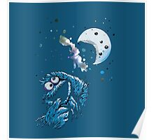 Cookie Monster And The Cookie Moon Poster