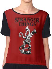 Stranger Things Demogorgon Stylised 3 Chiffon Top