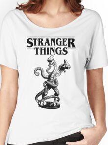 Stranger Things Demogorgon Stylised 3 Women's Relaxed Fit T-Shirt