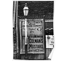 Old Streer Lamp Poster