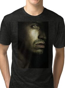man tear  Tri-blend T-Shirt