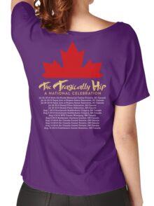 TRAGICALLY HIP TOUR DATE 2016 FRTR Women's Relaxed Fit T-Shirt