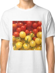 Red and Gold Cherry Tomatoes Classic T-Shirt