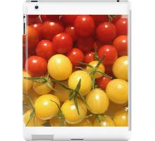 Red and Gold Cherry Tomatoes iPad Case/Skin