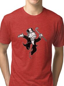 Monopoly Man Tri-blend T-Shirt