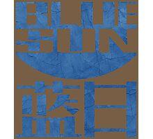Firefly Jayne blue sun grunge Photographic Print