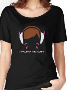 I Play To Win - DVA Women's Relaxed Fit T-Shirt