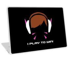 I Play To Win - DVA Laptop Skin
