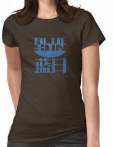 Firefly Jayne Cobb blue sun grunge Womens Fitted T-Shirt