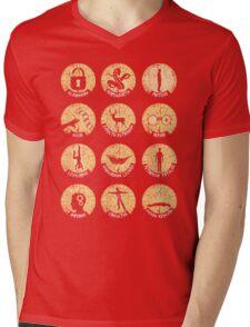 Spells Mens V-Neck T-Shirt