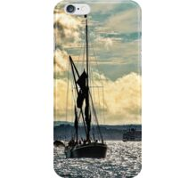Sailing Barge Heading Into Portsmouth iPhone Case/Skin