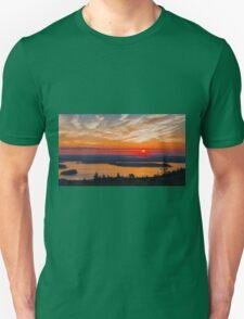 Overlooking Frenchman Bay Unisex T-Shirt