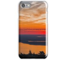 Overlooking Frenchman Bay iPhone Case/Skin