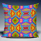 Pillow Painting by GolemAura