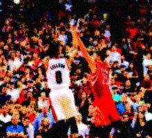 Damian Lillard vs Rockets Sticker