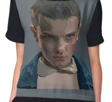 Eleven from Stranger Things  Chiffon Top